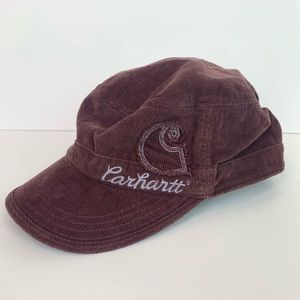 Carhartt embroidered corduroy hat